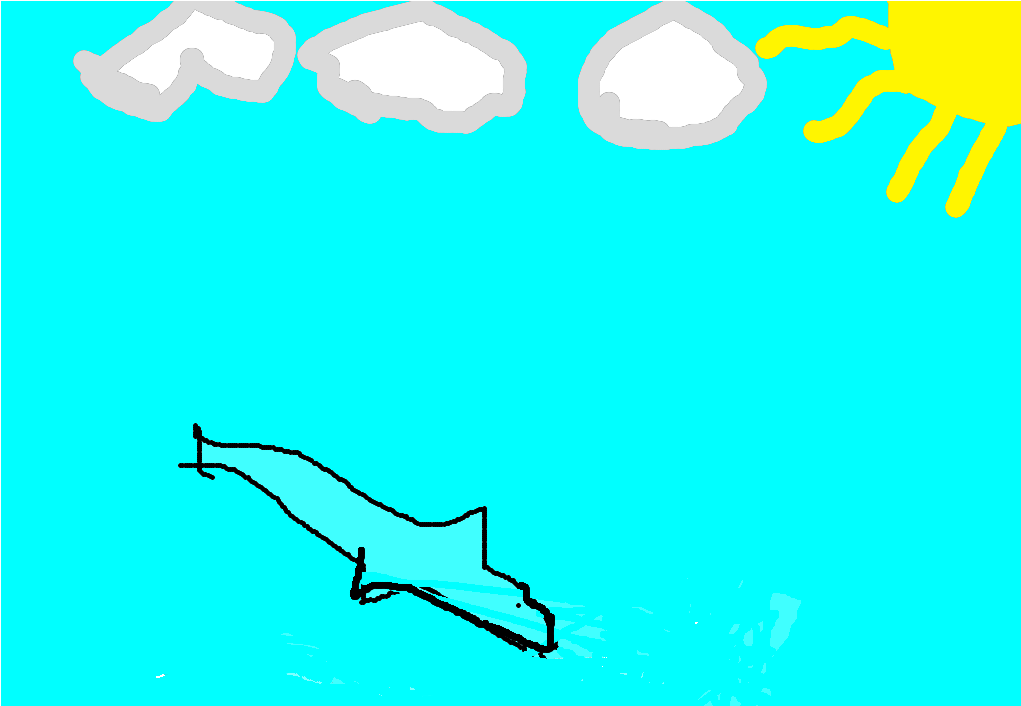 Amazing Dolphin By Julia My amazing animal is the dolphin. It lives in oceans around the world. It is a carnivore and it eats fish and squids. It can weigh up to 600 pounds.