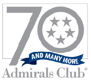 2009 The Admirals Club Celebrates 70 years of unmatched service.