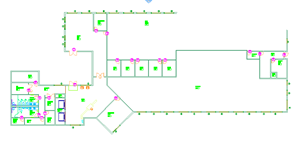 Creating Floor Plans in AutoCAD 2009 (Metric) This exercise leads you through the process of adding in walls, door and windows (dynamic blocks), room and door tags.