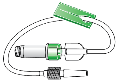 Catheter Extension Sets With InVision-Plus with Neutral Advantage Technology Intraluminal Protection System RYM 5407 7 Standardbore Catheter Extension Set APV = 1.