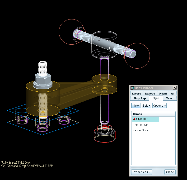LESSON 9 Exploded Assemblies & View Manager Default