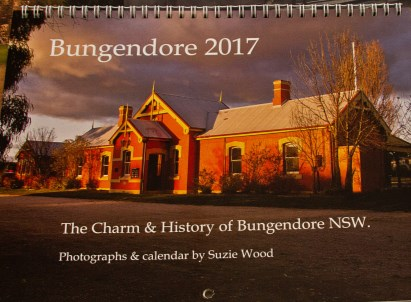 COMMUNITY NEWS 2017 Bungendore calendars by Suzie Wood. The Charm & History of Bungendore NSW. Quality stock paper. Available from Post Office & Local Liquor. $20 each.