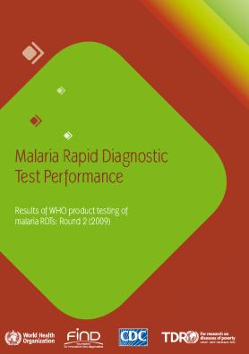 WHO malaria RDT product testing