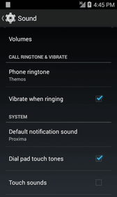 Access Sound Settings 1. From home, tap Apps > Settings. 2. Tap Sound. 3. Set your sound options. Your sound settings are saved and applied.