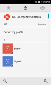 Contacts The People application lets you store and manage contacts from a variety of sources, including contacts you enter and save directly in your phone as well as contacts synchronized with your