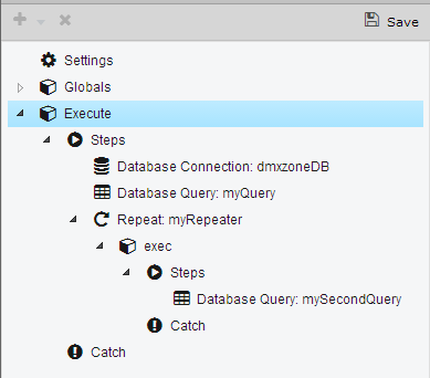 Support for nested database queries - Now thanks to Server Connect you can