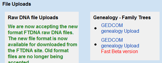 You should also upload your family tree (optional). o You must create a GEDCOM file (.GED or.ged). A GEDCOM file can be exported by a genealogy program or an online tree.