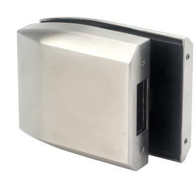 CL411S Central Lock GK411S Strike Box Single Action Suitable for 8-12mm glass panels.