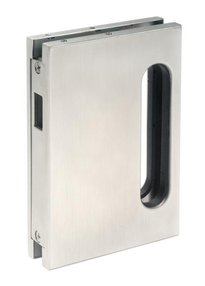 SGK90 Strike Box For Sliding Door Strike box to suit SL90 or SL91 Lock (left hand and right hand) Satin Stainless Steel Finish SL90 GK90 SGK91