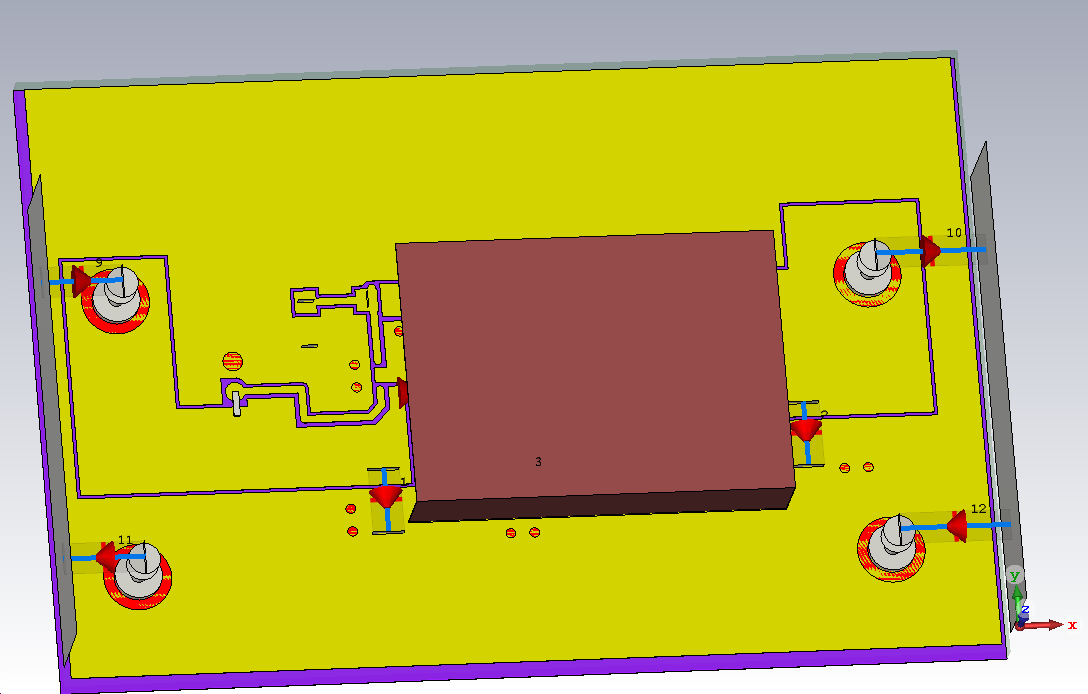 inductor and the switch node does