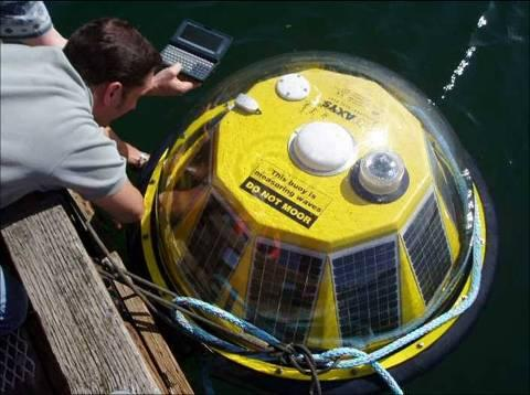 AXYS Technical Solution: AXYS HydroLevel TM Buoy provides the user with onboard data storage as well as real time