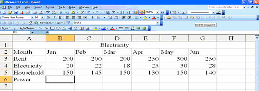 Click OK button. To print the worksheet with formulae displayed, click File menu and click on Print Preview. If the layout is satisfactory, click on the Print button.
