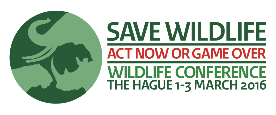 BACKGROUND NOTE 1. Introduction The international conference Save Wildlife: Act Now or Game Over will take place in The Hague from 1 3 March 2016.