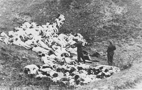 ravine after the mass execution.