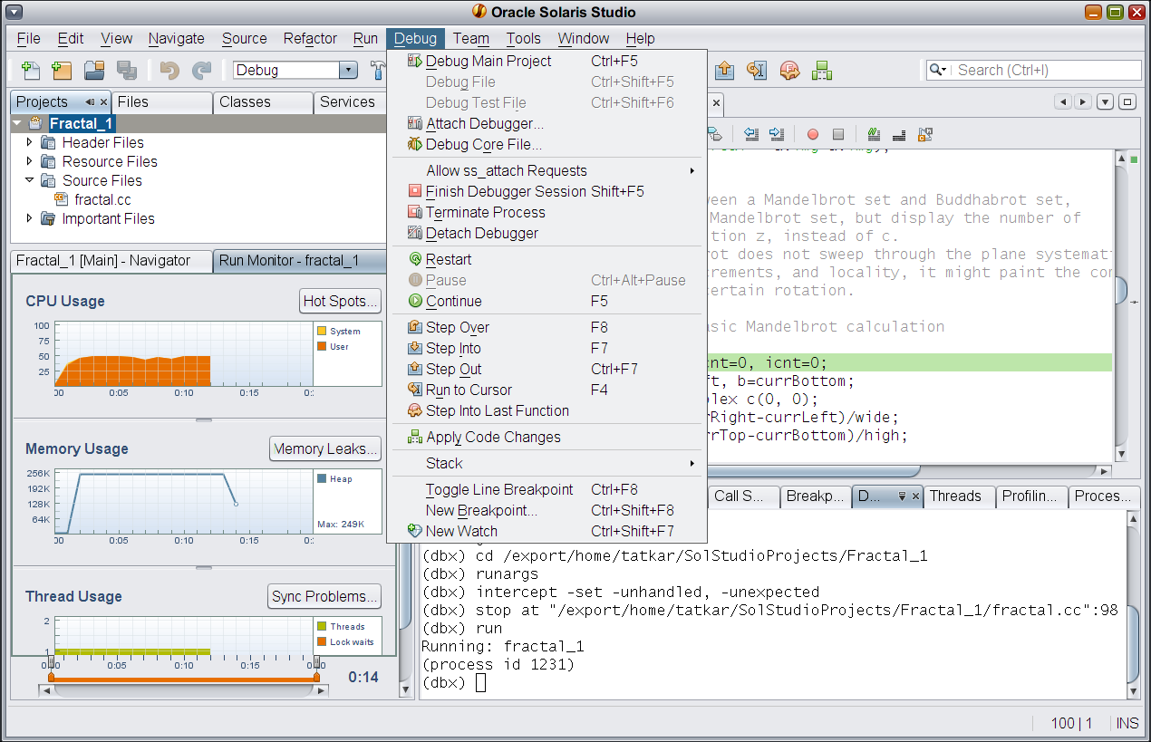 Full-featured Graphical IDE Full edit,