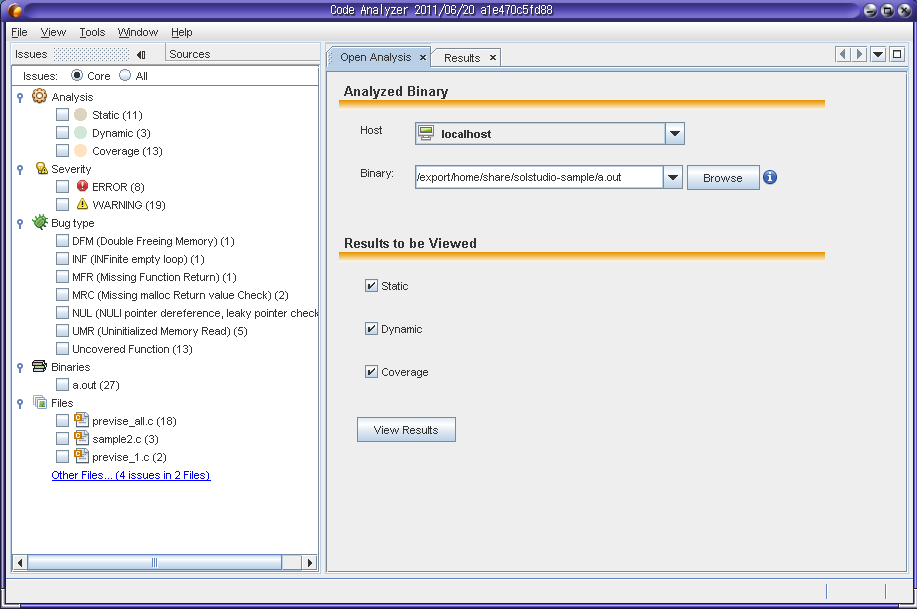 Code Analyzer New in Studio 12.