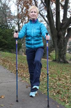 Urban Poling BALANCE EXERCISES* Balance exercises help improve your stability and mobility and can help prevent falls. Choose 1 or 2 of these exercises at the end of each urban poling session.