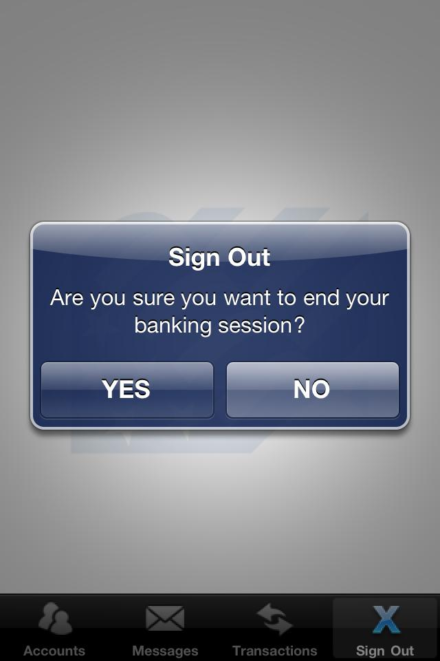 Sending a Message If you wish to send a Secured Message to the bank, click on the New button in the top right-hand corner of the Messages screen.