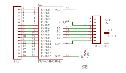 Provide information on connections between IMU, Multiplexer, and Arduino Uno Supply basic programming code to allow for functioning of Multiplexer with IMU and Arduino Uno Multiplexer Schematic and