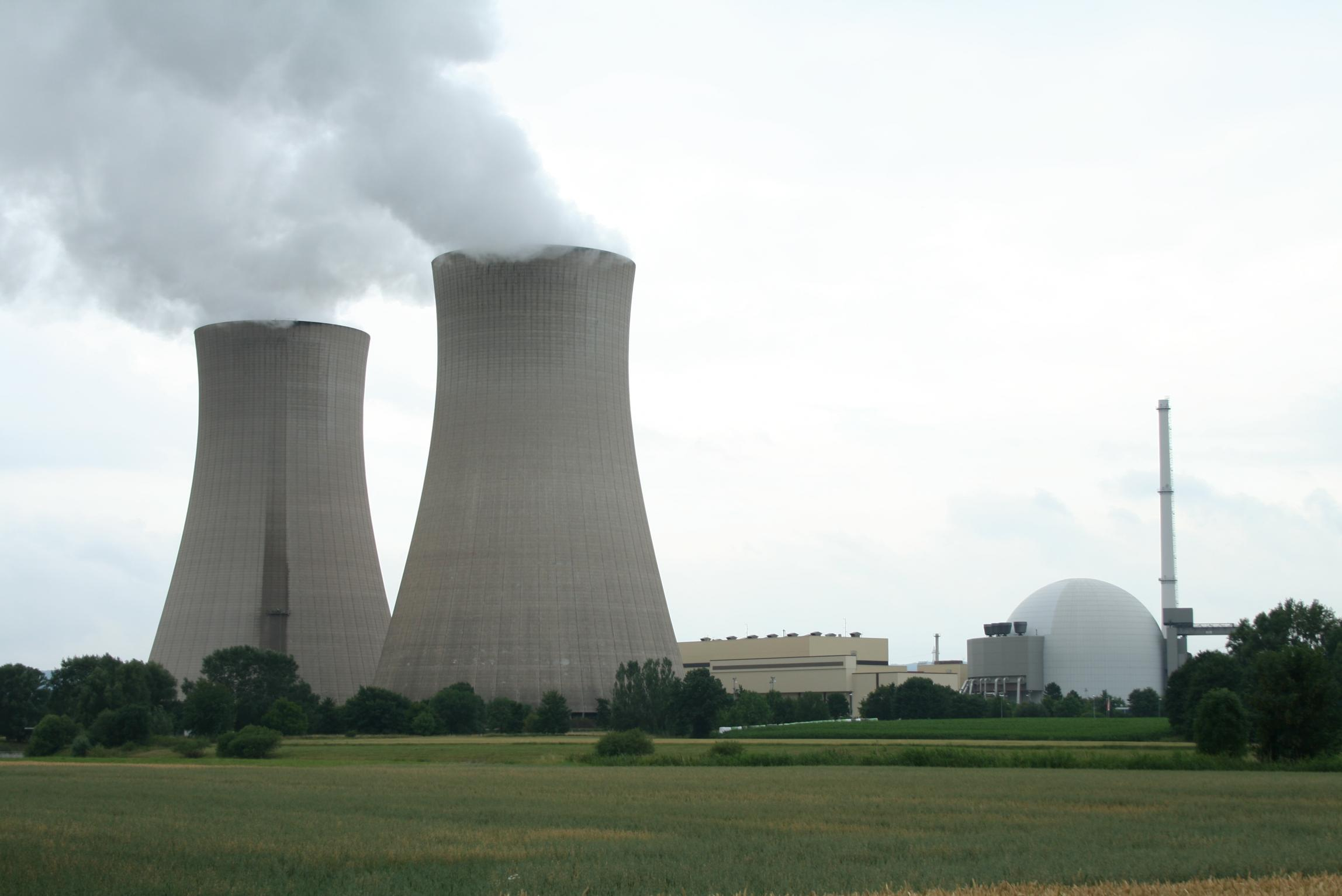 Nuclear Nuclear power is defined as the converting of heat energy, produced by a nuclear reaction, into electric energy via