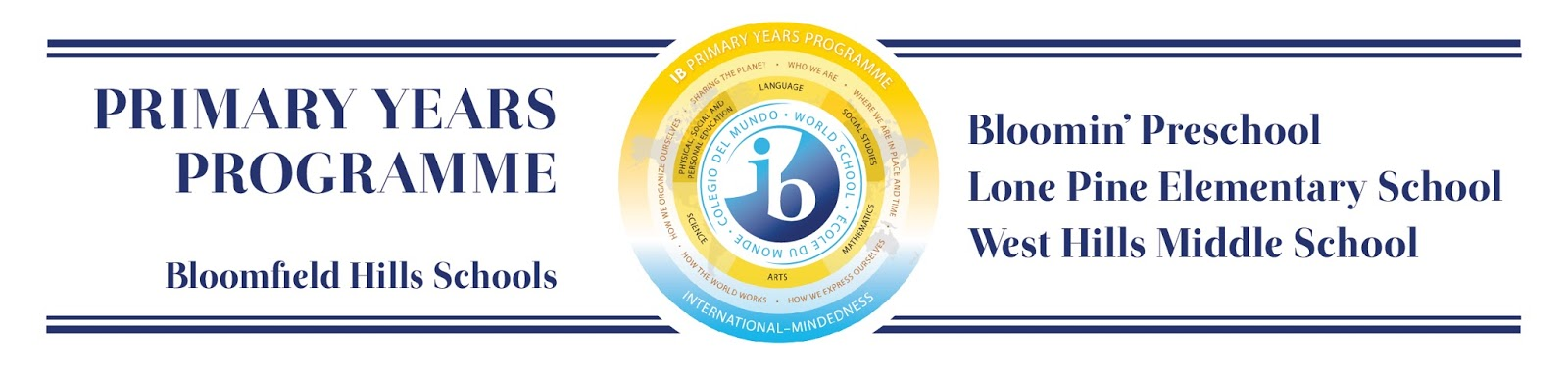 2014-15 Special Needs Policy International Baccalaureate Programme Standards and Practices Standard A: Philosophy The school s educational beliefs and values reflect IB philosophy. A.9: The school supports access for students to the IB programme(s) and philosophy.