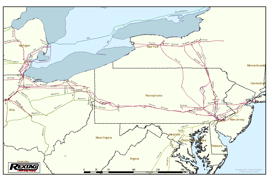 Project Mariner East and West Project Mariner West Project Mariner East Existing