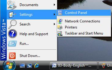 If the network settings are correct, you can start the installation. B.2 For Windows Vista user 1.