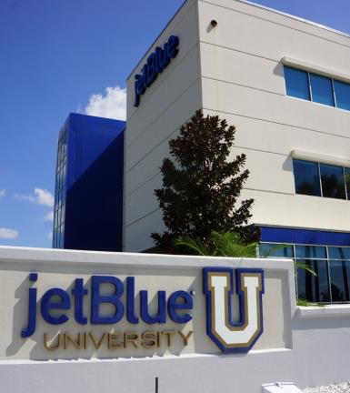 Something special about Jet Blue Culture is Service Jet Blue University