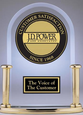 J.D. Power Survey and Customer Satisfaction The study measures overall customer satisfaction based on performance in seven categories (in order of importance): cost and fees, in-flight services,
