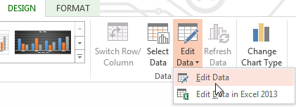 Office Excel 2013 opens a new Excel worksheet window over the existing window which displays sample data on a worksheet. 4.