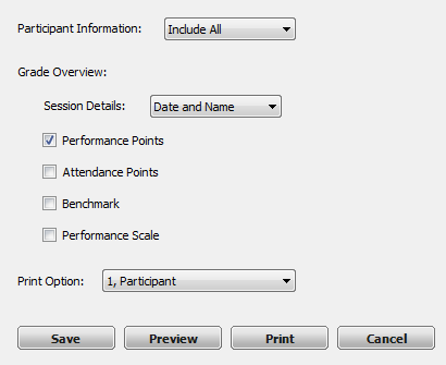 TurningPoint PowerPoint Polling for PC 48 4 Expand the Session Information category from the right panel.