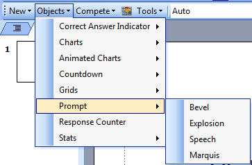 TurningPoint PowerPoint Polling for PC 69 Non-Response - The non-response grid displays the participant name by default. As the participants respond, the corresponding box is removed.