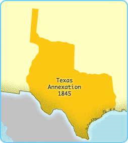 Texas Annexation, 1845 The Spanish were the first to colonize the states that today make up the American southwest, including the state of Texas.