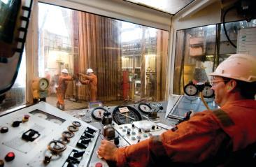 Pipe Handling and the Drill String Draw works and Rotary Table Drillers Control Room