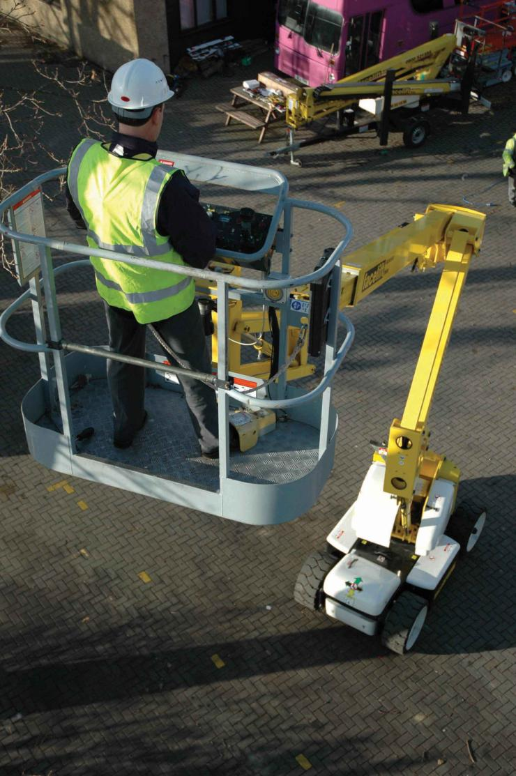 Types of Aerial Lifts Aerial lifts include the following types of