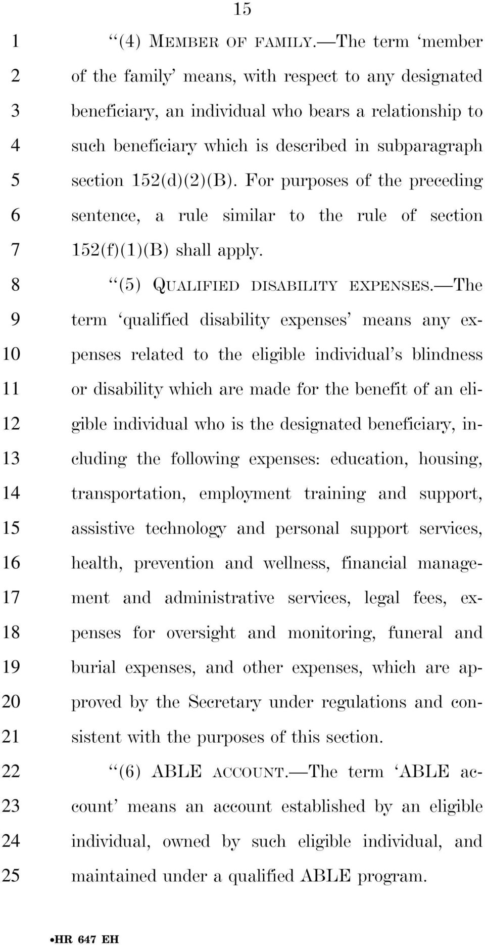 For purposes of the preceding sentence, a rule similar to the rule of section 1(f)(1)(B) shall apply. () QUALIFIED DISABILITY EXPENSES.
