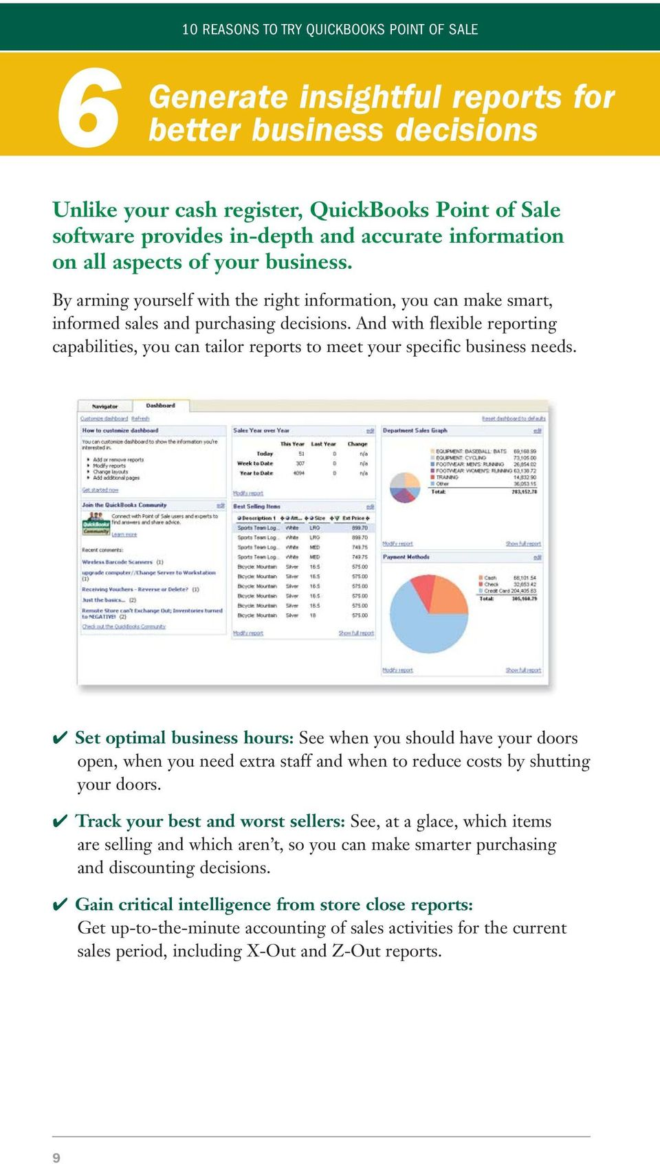 And with flexible reporting capabilities, you can tailor reports to meet your specific business needs.