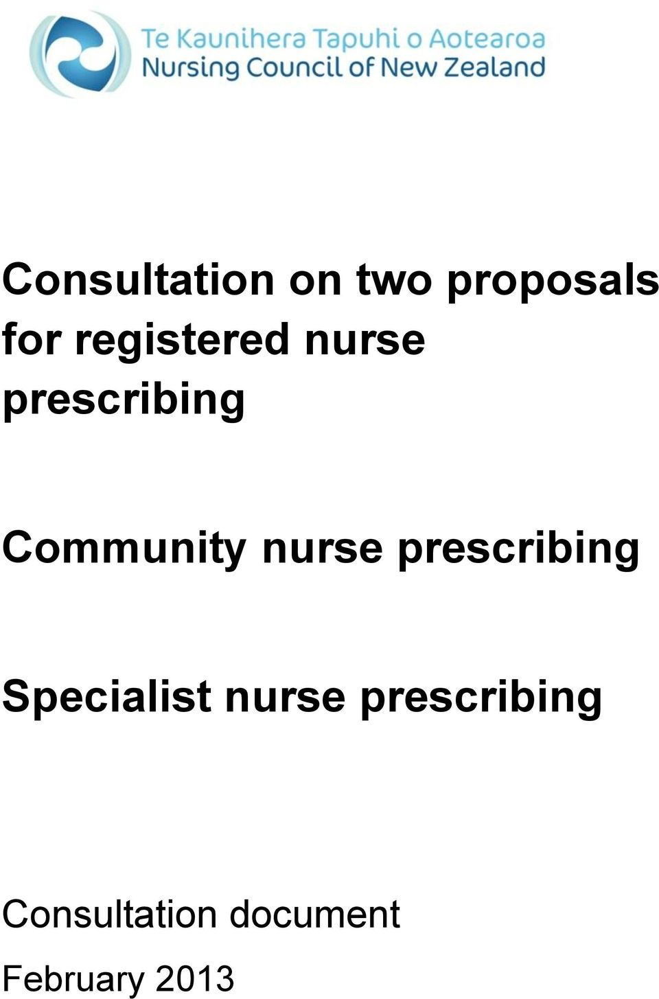 nurse prescribing Specialist nurse