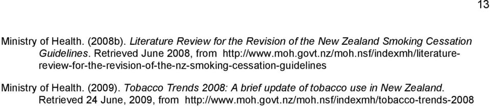 Retrieved June 2008, from http://www.moh.govt.nz/moh.