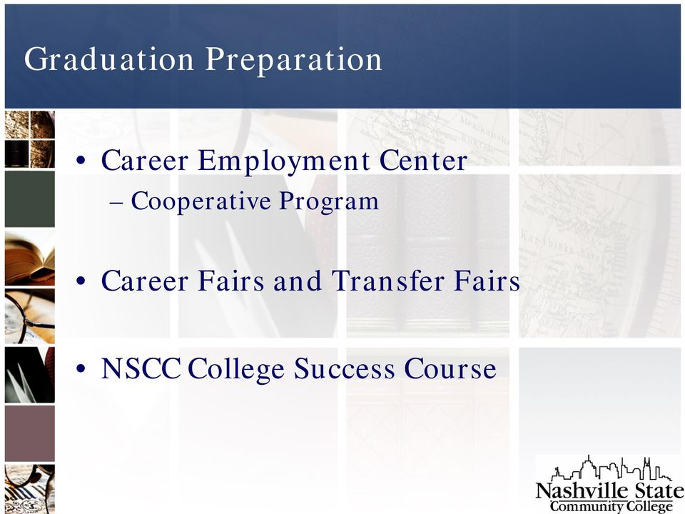 Program Career Fairs and