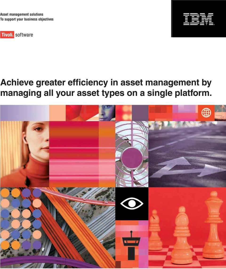 efficiency in asset by managing all