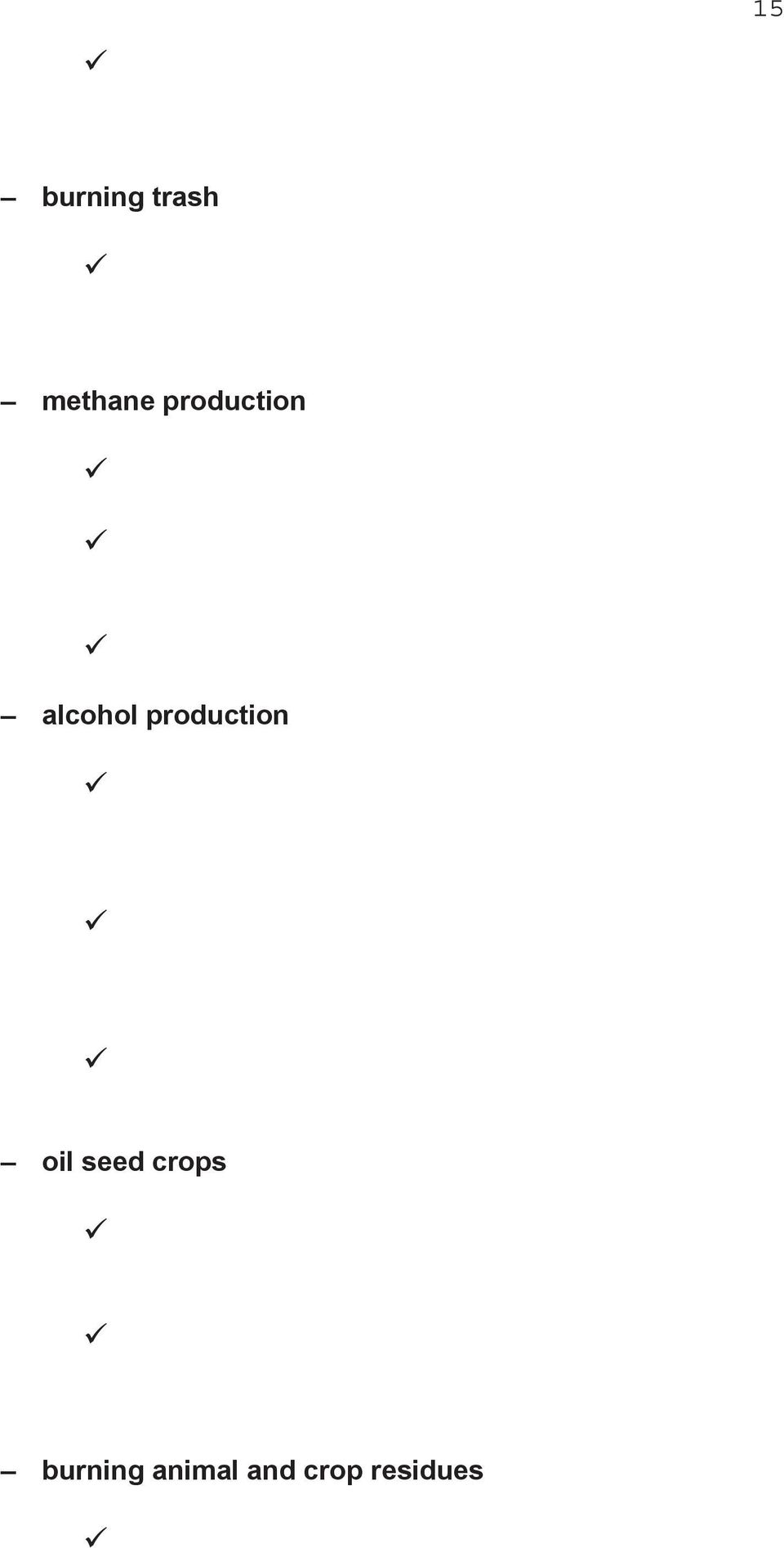 production oil seed crops