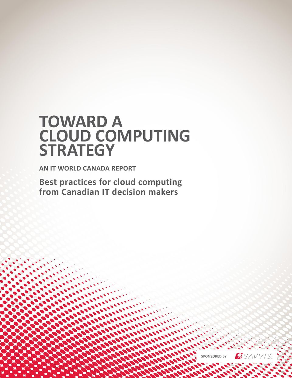 cloud computing from Canadian IT decision
