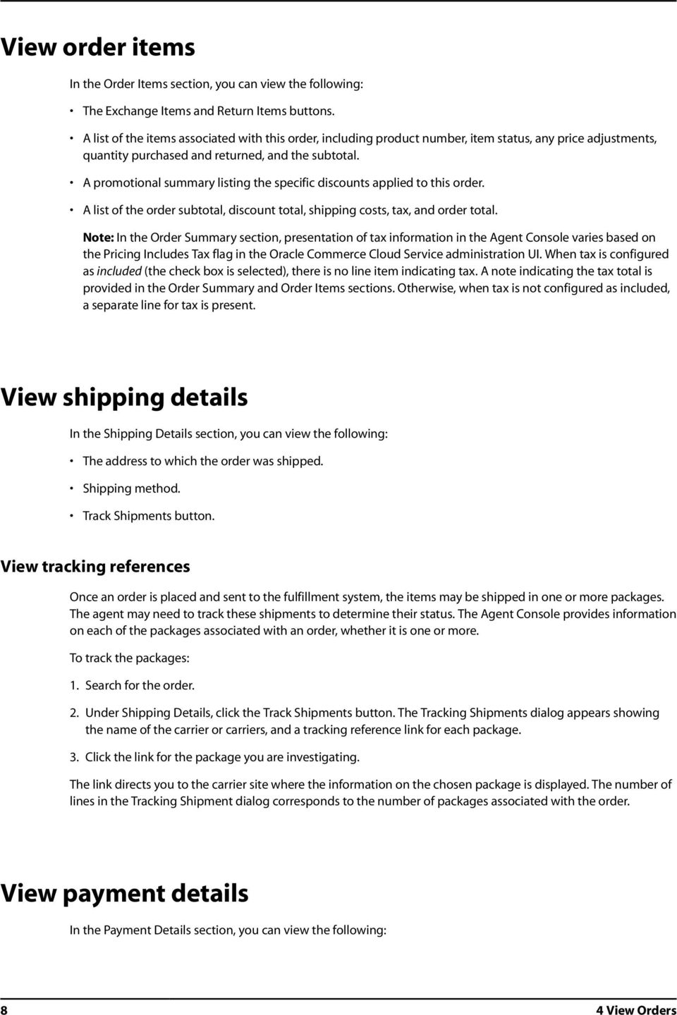 A promotional summary listing the specific discounts applied to this order. A list of the order subtotal, discount total, shipping costs, tax, and order total.