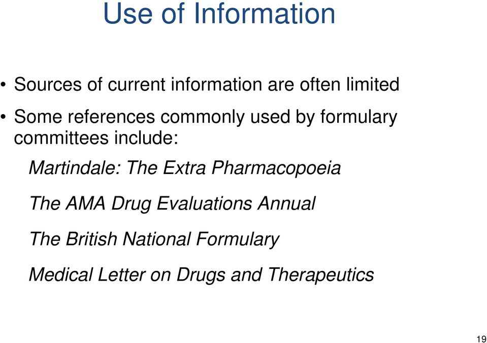 Martindale: The Extra Pharmacopoeia The AMA Drug Evaluations Annual
