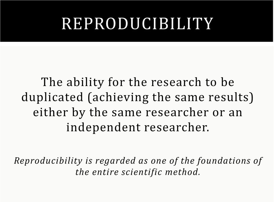 researcher or an independent researcher.