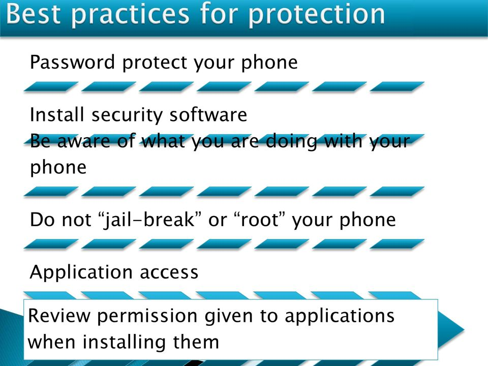 jail-break or root your phone Application access