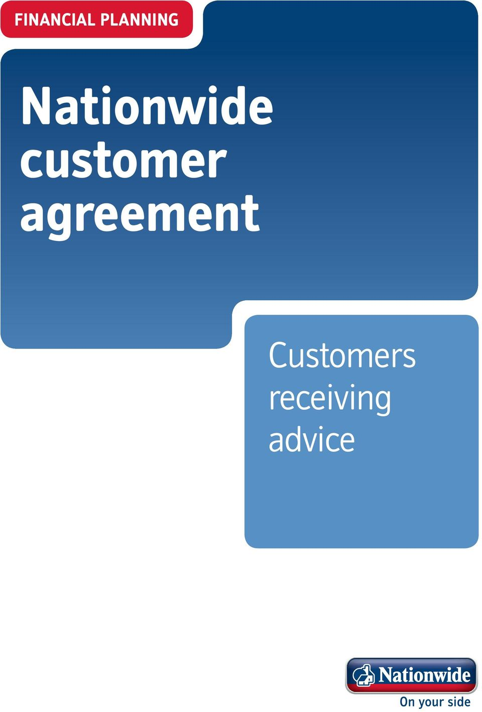 customer agreement