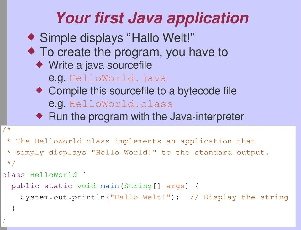 java Compile this sourcefile to a bytecode file e.