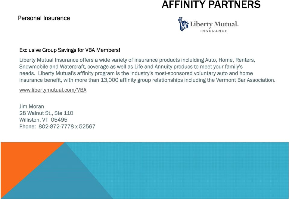 well as Life and Annuity producs to meet your family's needs.